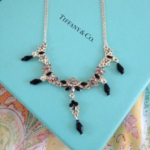 Prom🎀New Rhinestone necklace and earring set