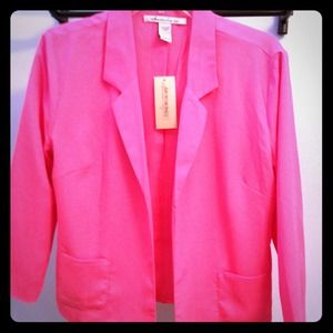 Jackets & Blazers - Hot Pink Blazer (Reserved for @Khanna2011)