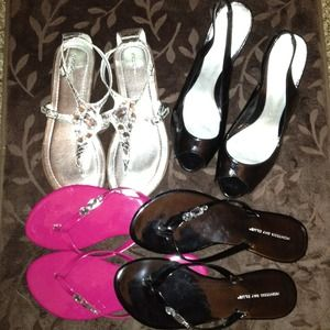 Shoes - 🎉SOLD to @jadelove26 ...3 pairs of sandals🎉