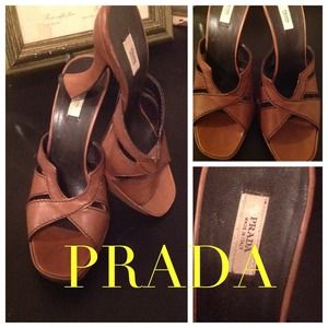 Prada Shoes - PRADA Platform Slides