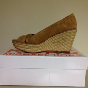 Michael Kors Shoes - Price reduced!  Michael Kors Upland wedge