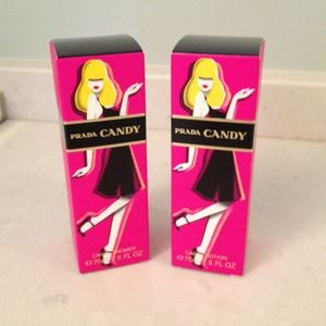 Prada Candy Shower Gel and Lotion