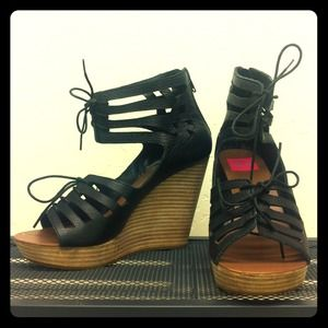Dolce Vita Shoes - Dolce Vita lace-up wedges