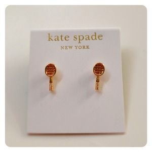 New KATE SPADE Tennis Earrings