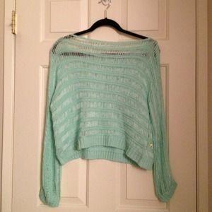 Tops - 💜NEW Mint Knit Sweater 💜