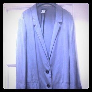 J. Crew Jackets & Blazers - Grey silky J. Crew blazer!