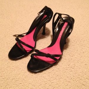 Via Spiga Leather Strappy Sandals/Heels.