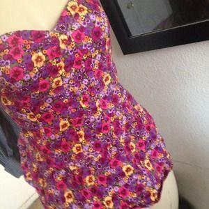 Tops - Flower corset