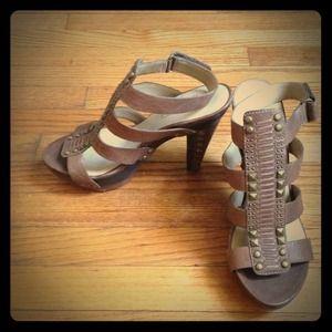 Rachel Roy gladiator heels