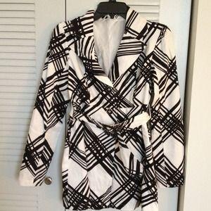 Jackets & Blazers - Coat with belt