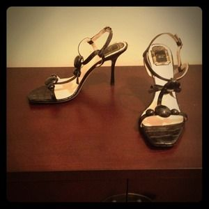 *REDUCED* Open toed heels by Christian Dior