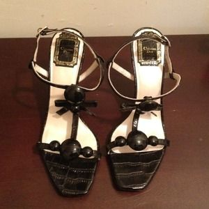 Dior Shoes - *REDUCED* Open toed heels by Christian Dior