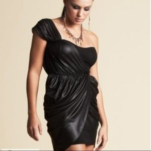 bebe Dresses & Skirts - RESERVE Kardashians bebe Black Silk Dress small