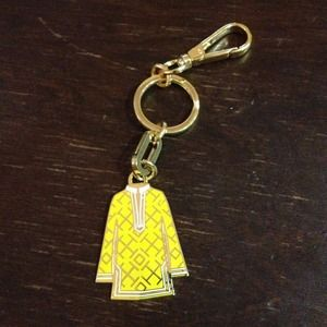 Tory Burch Accessories - Tory burch tunic keychain in yellow