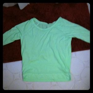 Tops - Green 60's top
