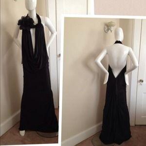 Drape Evening Dress