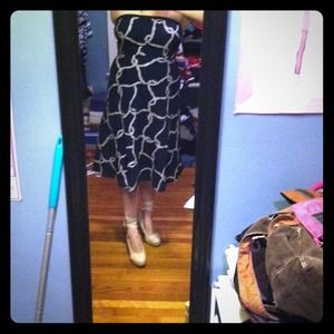 J. Crew Dresses & Skirts - Strapless nautical dress