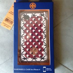 Tory Burch Accessories - Sold;)lhy Nib Tory burch iphone4 full wrap hard sh