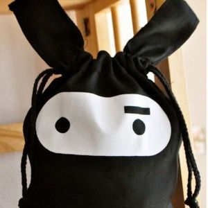 Handbags - My Secret Ninja Drawstring