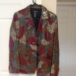 Leather coat!