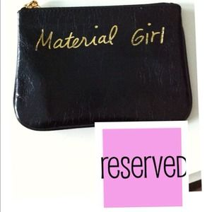 ❌RESERVED❌Rebecca Minkoff Cory Pouch-Material Girl
