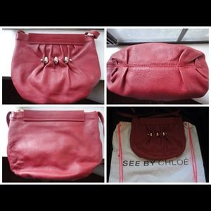 ☀Further Reduced!! SEE BY CHLOE Leather Bag