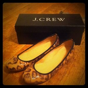 J. Crew Shoes - Host Pick😘 New J.Crew leopard ballet flats