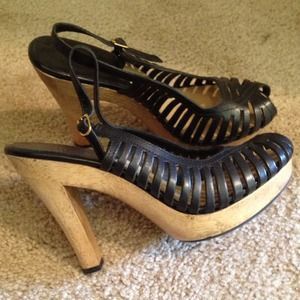 Michael Kors Shoes - Michael Kors Leather Heels