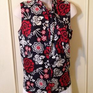 Tory Burch Tops - Sold😄heatheruphold Sz6 silk Tory burch sleeveless
