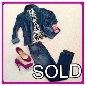 Jackets & Blazers - (Sold) Vintage Teal Velvet Blazer
