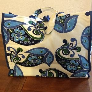 Old Navy Paisley Tote