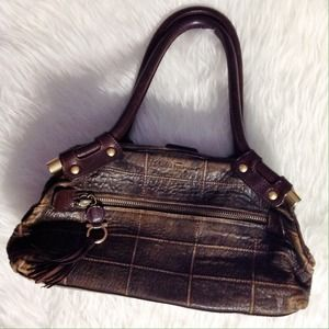 "SALVATORE FERRAGAMO ""Quilted"" Leather Bag"