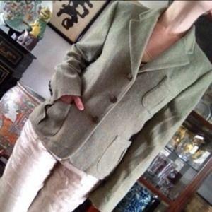 Ralph Lauren Jackets & Blazers - Lauren by Ralph Lauren green blazer