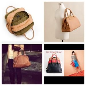 J. Crew Handbags - J Crew Biennial Satchel in camel 🎉SALE🎉