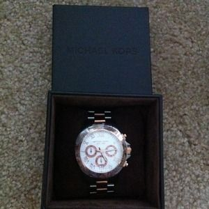 Michael Kors Accessories - NWT Michael Kors Two Tone Watch 3