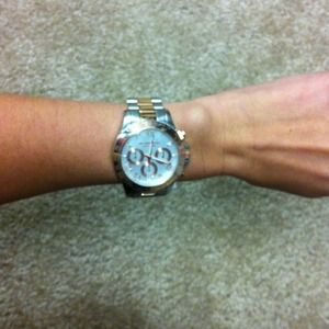 Michael Kors Accessories - NWT Michael Kors Two Tone Watch 4