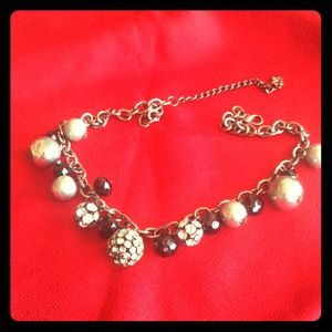 Balls and chain necklace!