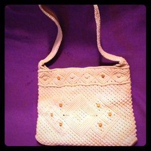 Handbags - Vintage Macramé Purse