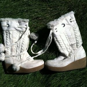 Boots - White boots