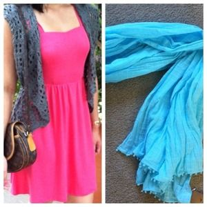 Hollister Accessories - RESERVED Dress and Scarf Bundle