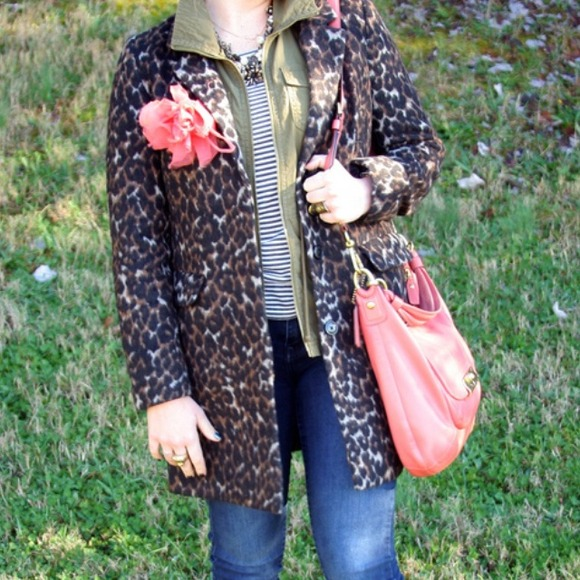 Old Navy Jackets & Coats - Old Navy leopard print coat