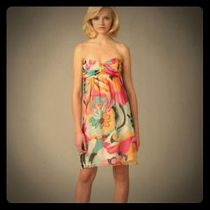 Shoshanna Dresses & Skirts - Shoshanna strapless sun dress!