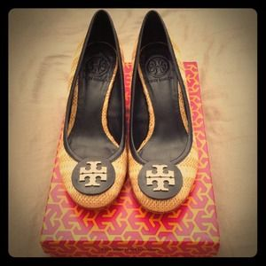 Tory Burch Shoes - 📫Bundle 4 abadua68📫 TB Straw Wedge & Qfrancesca