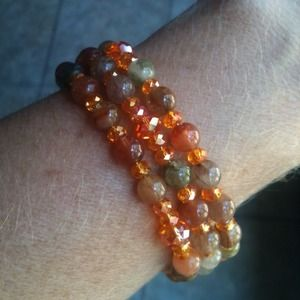 Rosary wraparound bracelet