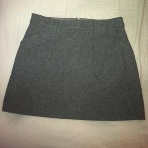 Gray Jcrew skirt