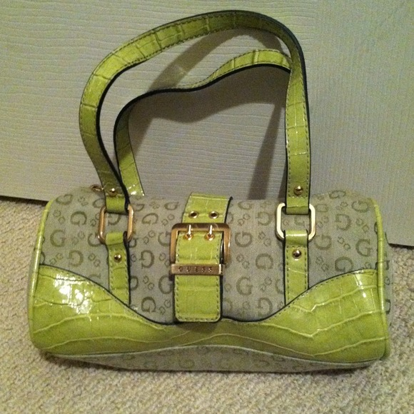 Green Guess Bag