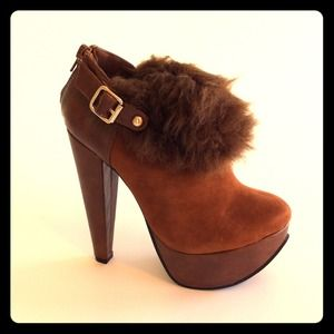 khey's pick  Boots - Lisa's Booties in Chocolate Brown