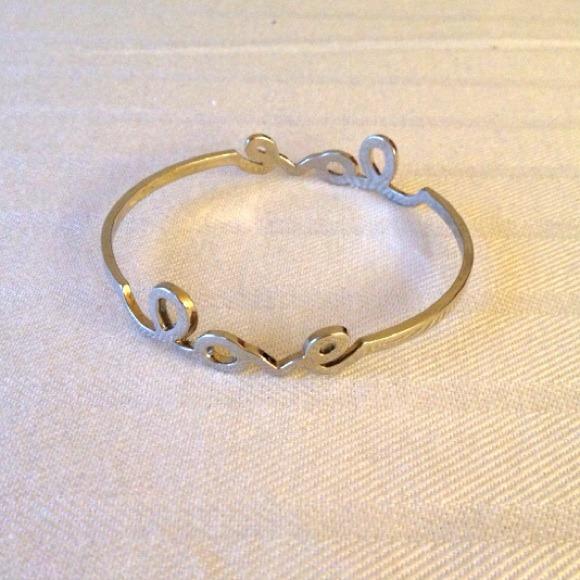 Jewelry - LOVE silver bracelet