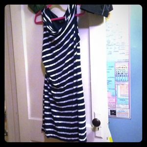 LOFT Dresses & Skirts - Stripe party dress