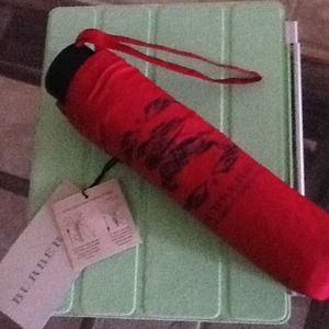 burberry compact umbrella
